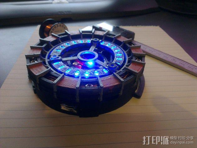 能量环 3D模型  图2