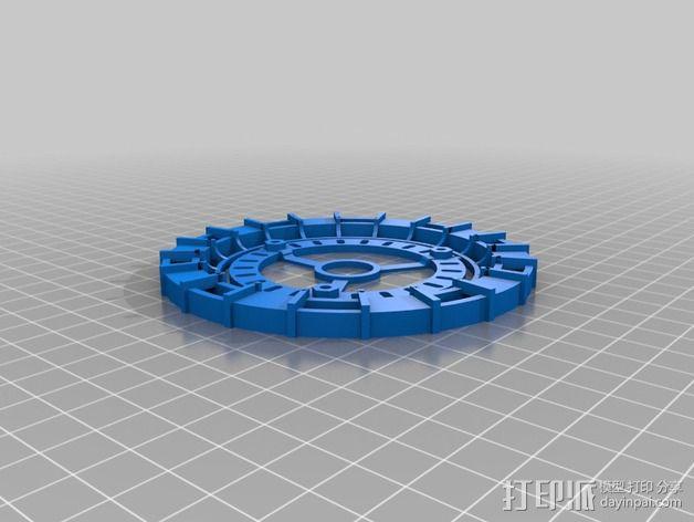 能量环 3D模型  图3