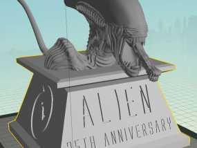 外星人 半身像模型 3D模型