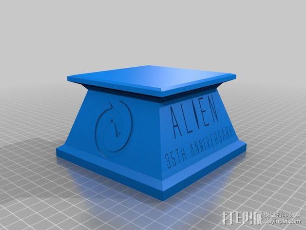 外星人 半身像模型 3D模型  图6