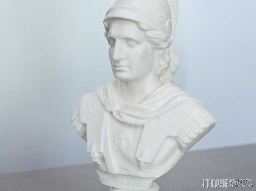 亚历山大大帝半身像模型 3D模型  图5
