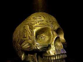 凯尔特头骨 3D模型