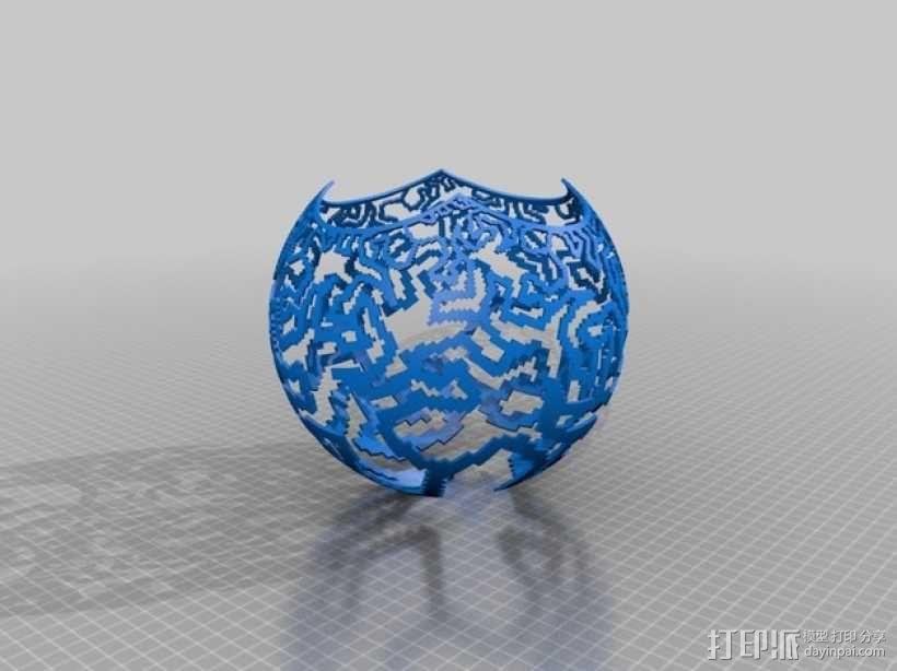 立体投影球 3D模型  图5