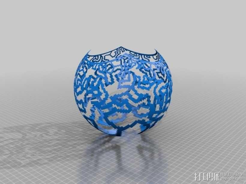 立体投影球 3D模型  图7