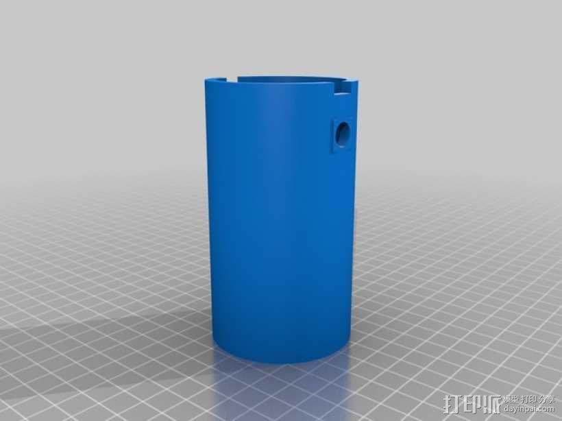 齿轮心  3D模型  图4