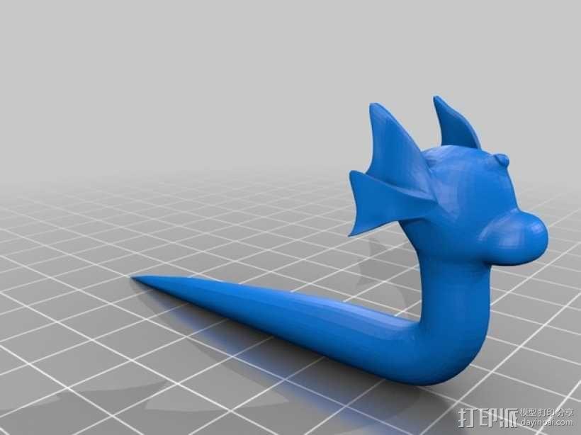 口袋妖怪 迷你龙 模型 3D模型  图1