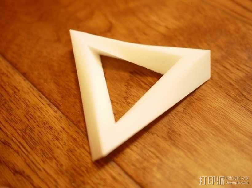 潘诺斯三角形 3D模型  图3