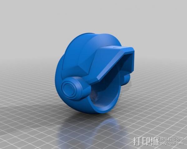 蠢朋克头盔 3D模型  图6