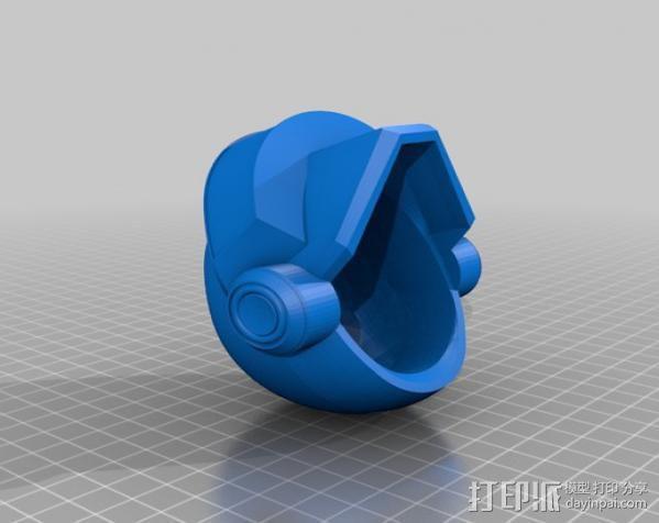 蠢朋克头盔 3D模型  图7