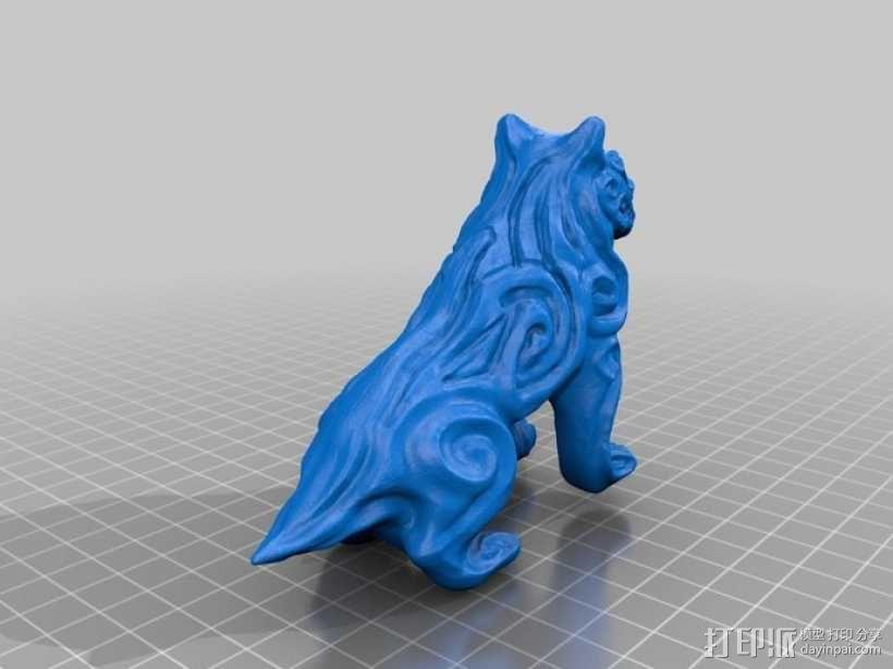 魔鬼狗  模型 3D模型  图1