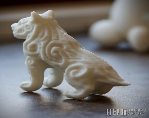 魔鬼狗  模型 3D模型  图3