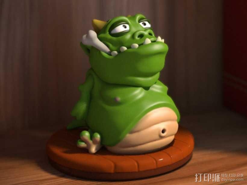 口袋妖怪:Gulpy 3D模型  图1