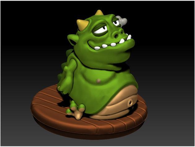 口袋妖怪:Gulpy 3D模型  图2
