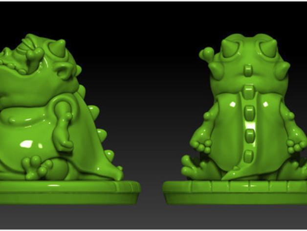 口袋妖怪:Gulpy 3D模型  图4