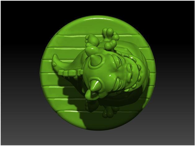 口袋妖怪:Gulpy 3D模型  图5