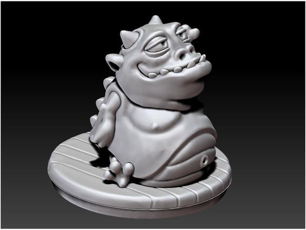 口袋妖怪:Gulpy 3D模型  图3