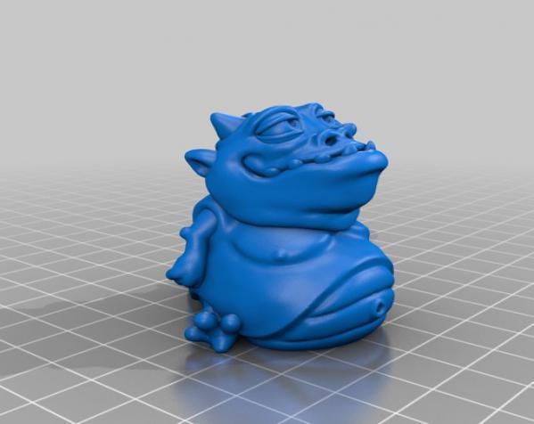 口袋妖怪:Gulpy 3D模型  图6