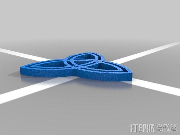 凯尔特结 3D模型  图2
