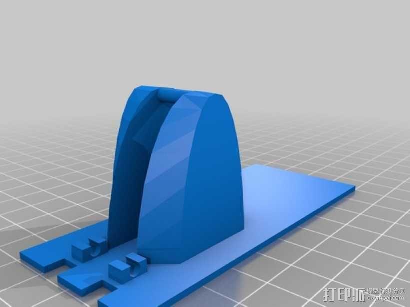 迷你弹弓 3D模型  图1