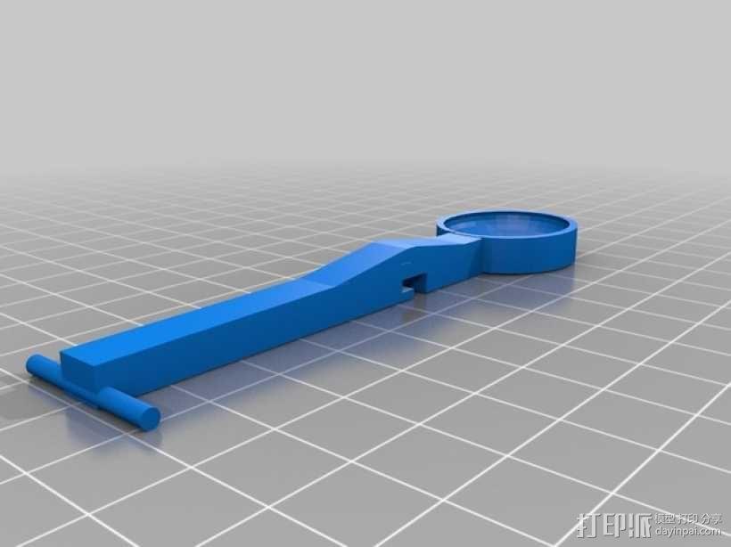 迷你弹弓 3D模型  图2
