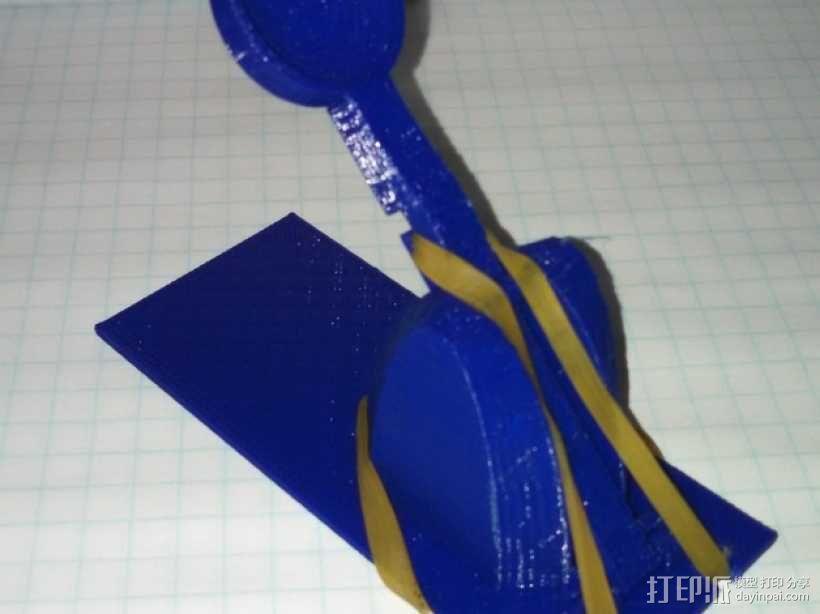 迷你弹弓 3D模型  图3