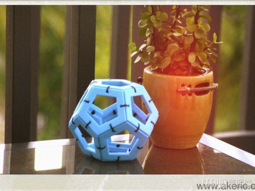 正十二面体 3D模型  图1