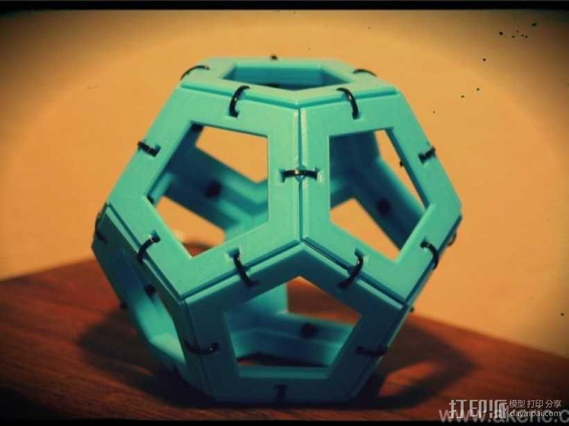 正十二面体 3D模型  图2