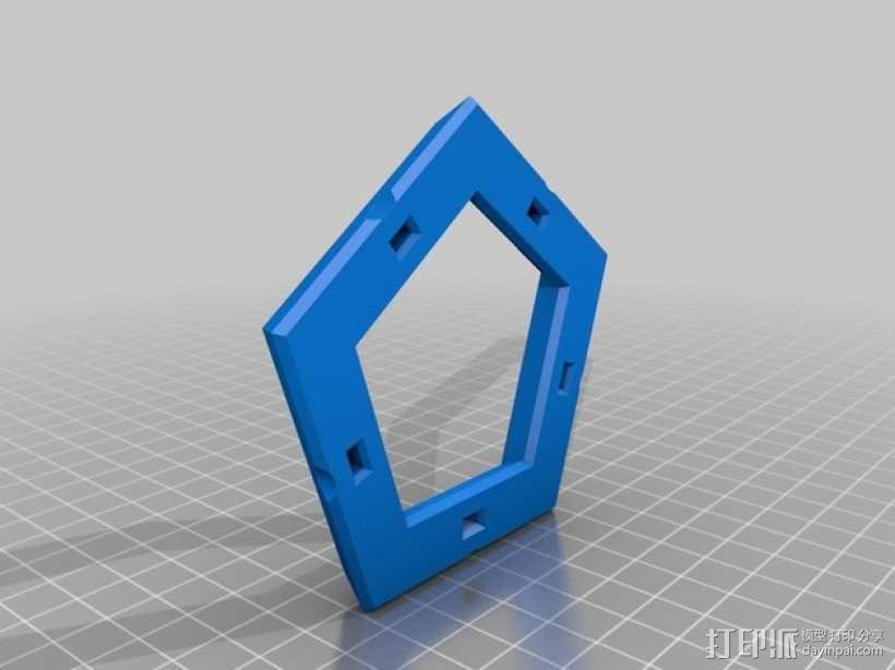 正十二面体 3D模型  图4
