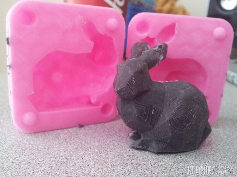 斯坦福兔子模型 3D模型  图1