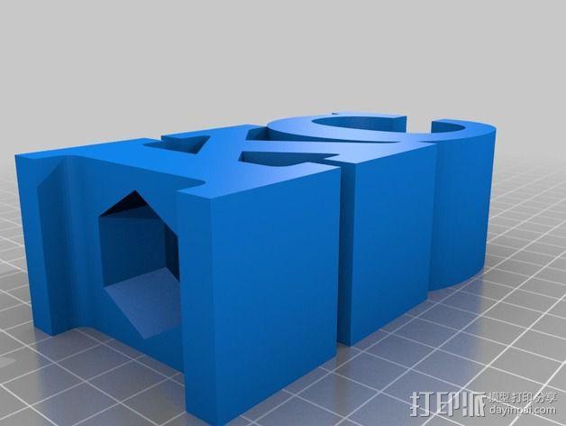 KC 铅笔夹 3D模型  图2