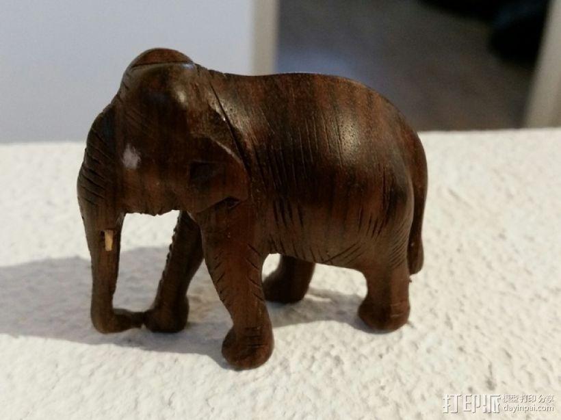 大象模型 3D模型  图1