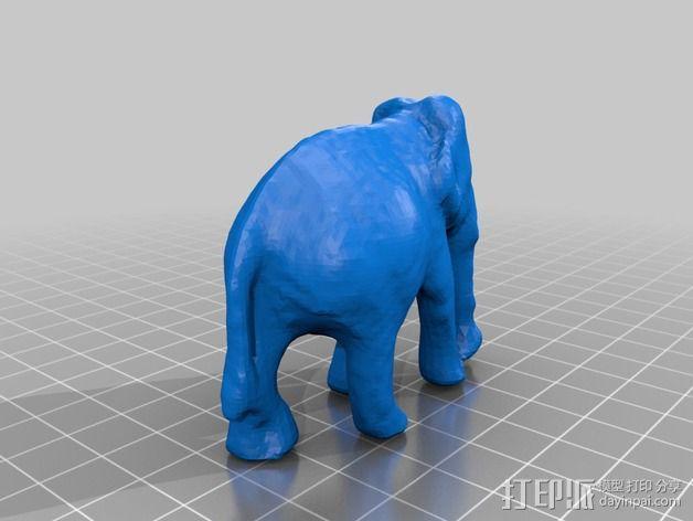 大象模型 3D模型  图2