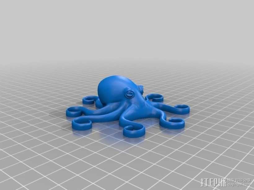 章鱼 模型 3D模型  图2