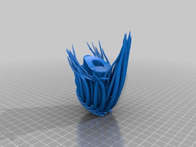 铁血战士头像模型 3D模型  图2