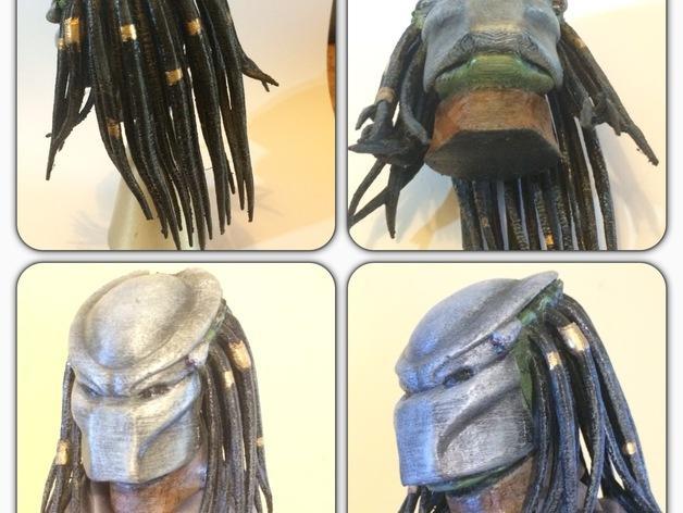 铁血战士头像模型 3D模型  图3
