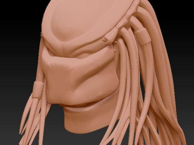 铁血战士头像模型 3D模型  图6