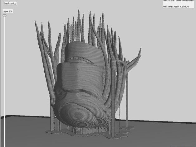 铁血战士头像模型 3D模型  图8