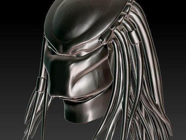 铁血战士头像模型 3D模型  图5