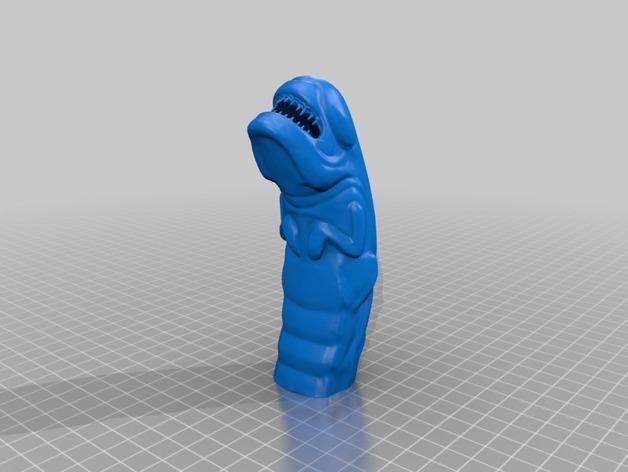 异形 破胸者 模型 3D模型  图2
