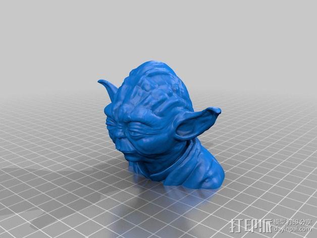 尤达大师 模型 3D模型  图2