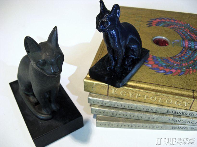 埃及猫 模型 3D模型  图1