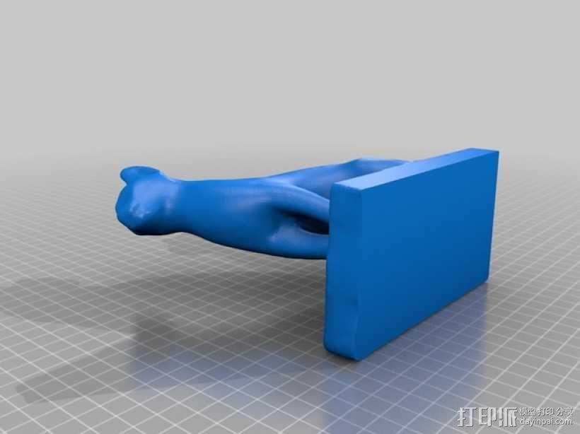 埃及猫 模型 3D模型  图3