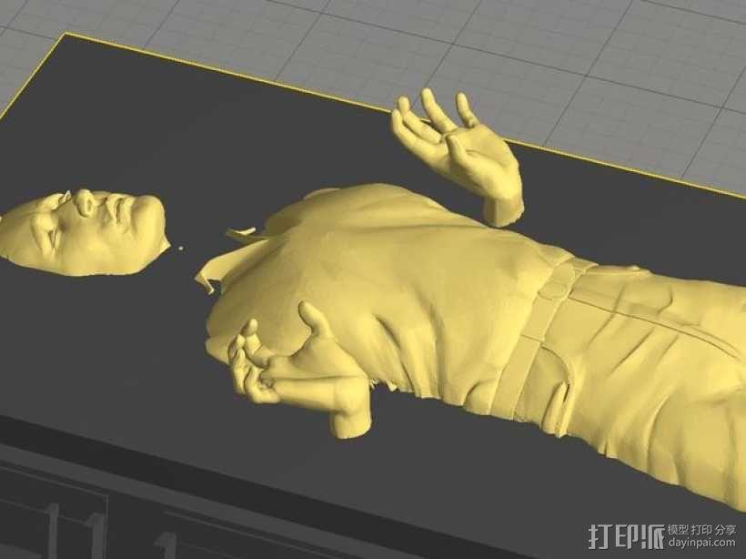Han solo韩索罗 模型 3D模型  图1