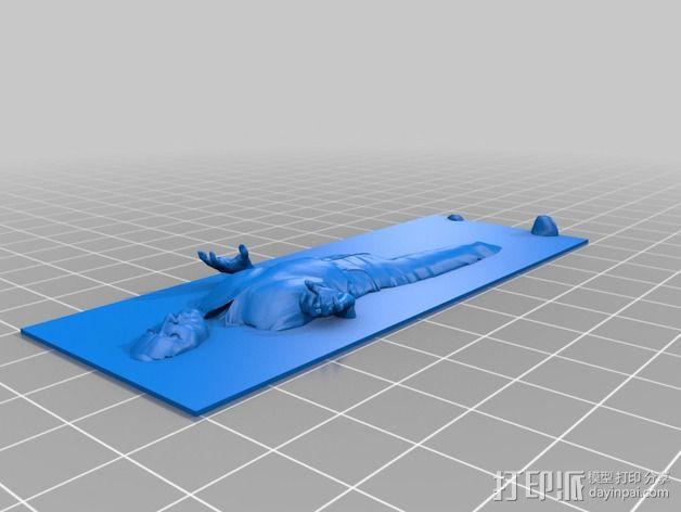 Han solo韩索罗 模型 3D模型  图3