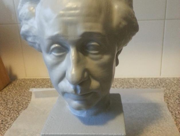 Albert Einstein爱因斯坦半身像模型 3D模型  图9