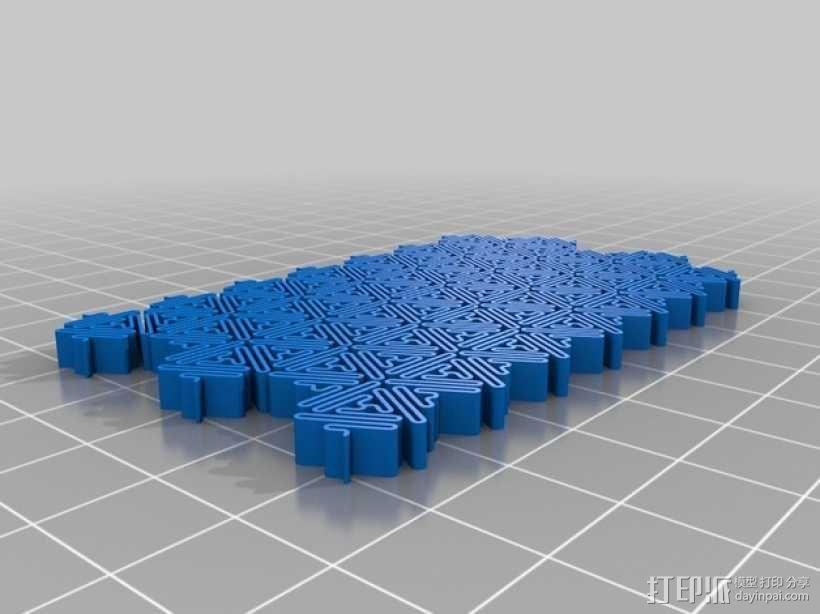介孔结构材料模型 3D模型  图1
