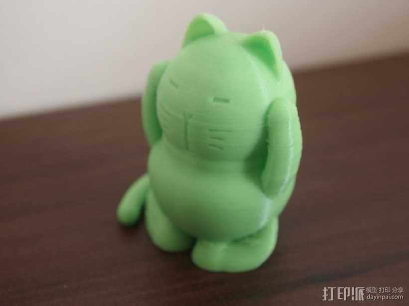 招财猫 模型 3D模型  图1