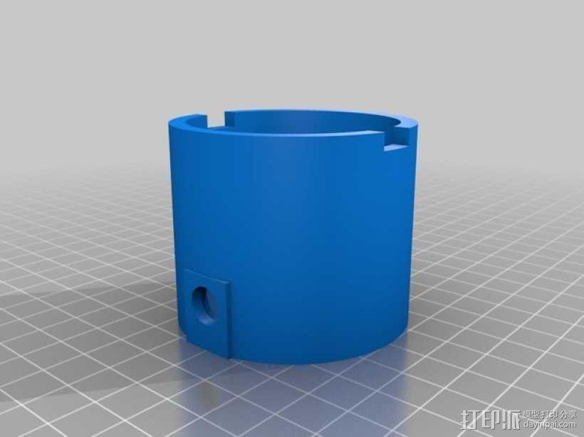 电动版齿轮心 3D模型  图2