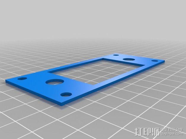白板绘图机 3D模型  图3