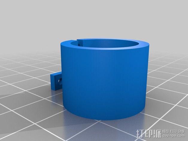 白板绘图机 3D模型  图2